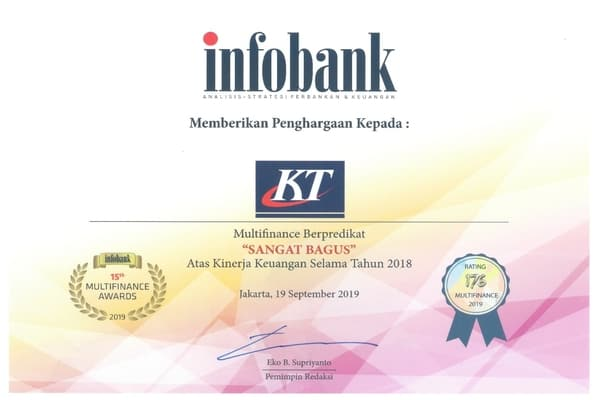 Award For Excellent Financial Performance