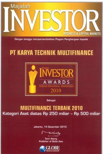 2010 - Investor