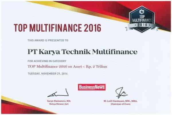 2016 - Top Multifinance